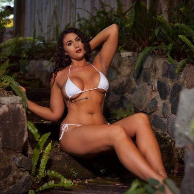 Vanessa in white bikini