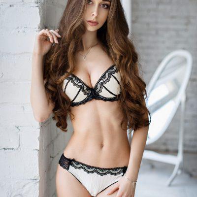 asian stripper in lingerie